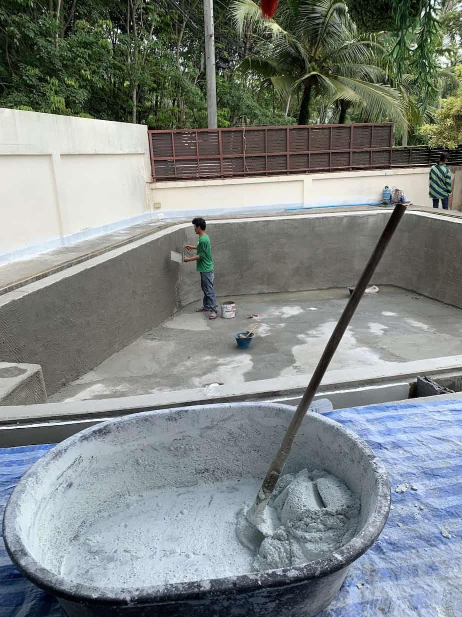 2019 pool renovation